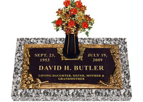 Grave Markers Cemetery Markers Headstones Monuments Flush Grave Markers Bevel Grave